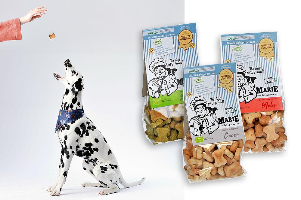 Che buoni i biscotti (per cani) di Marie!